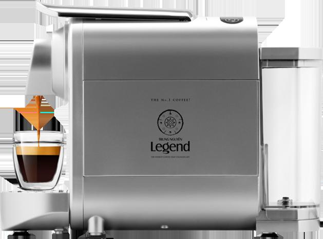 Máy pha cà phê viên nén Trung Nguyên