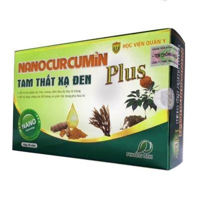 Nano Curcumin Plus Tam Thất Xạ Đen HVQY