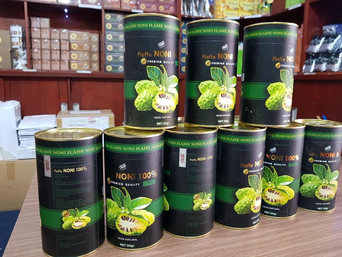 Viên nhàu Noni Flaffee (Noni Tea Pellet) 250 gram