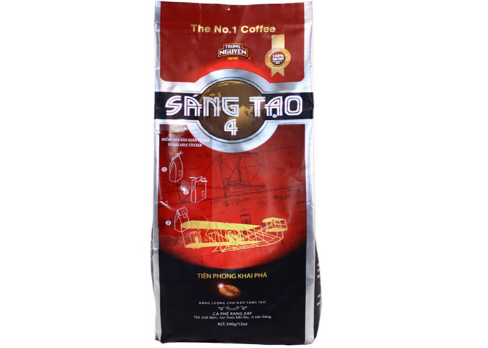 Cà phê sáng tạo 4 Trung Nguyên
