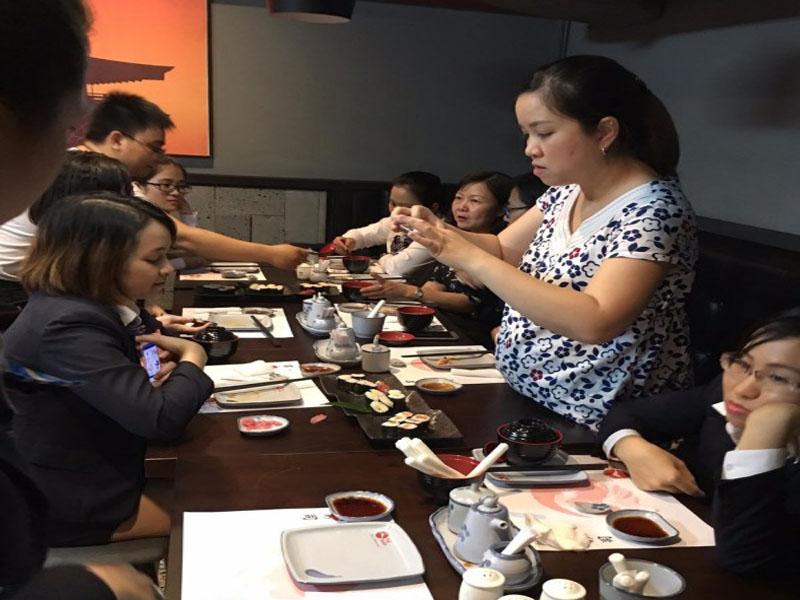 Địa điểm ăn Sushi ngon tại Sài Gòn