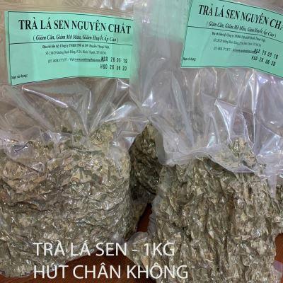 Trà lá sen HÚT CHÂN KHÔNG Nguyên Chất -1kg