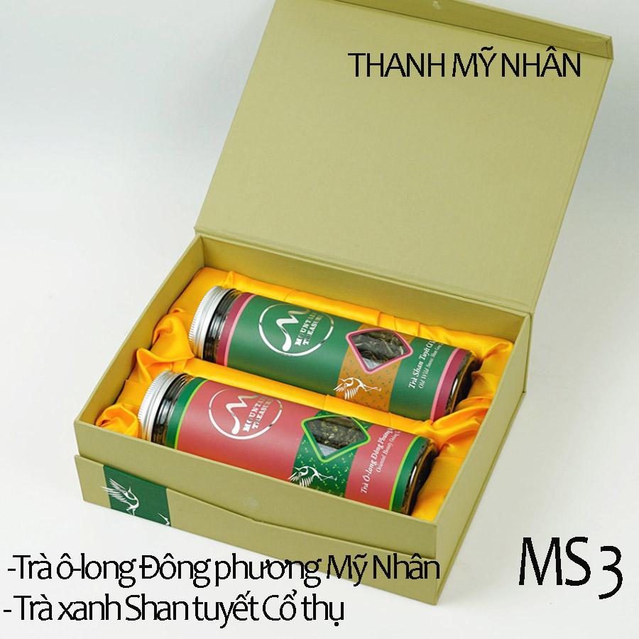 Hộp trà Thanh Mỹ Nhân Cao Cấp -MS3