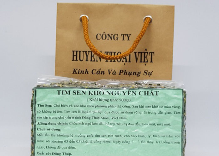 Trà tim sen Đồng Tháp 1 kg