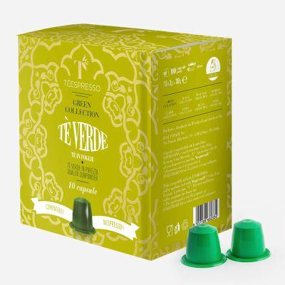 Trà Viên Nén Green Tea - Hộp 10 Viên