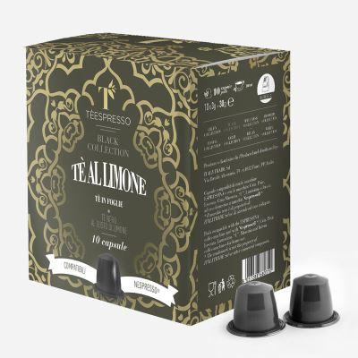 Trà Viên Nén Vị Chanh( Lemon Tea Capsule) - Hộp 10 Viên