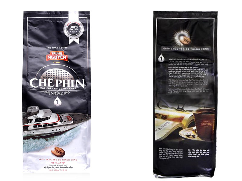 Cà phê Trung Nguyên Chế phin 1 500gam