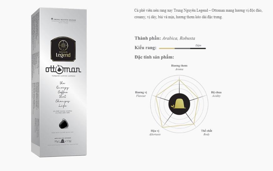 Cà phê viên nén Ottoman