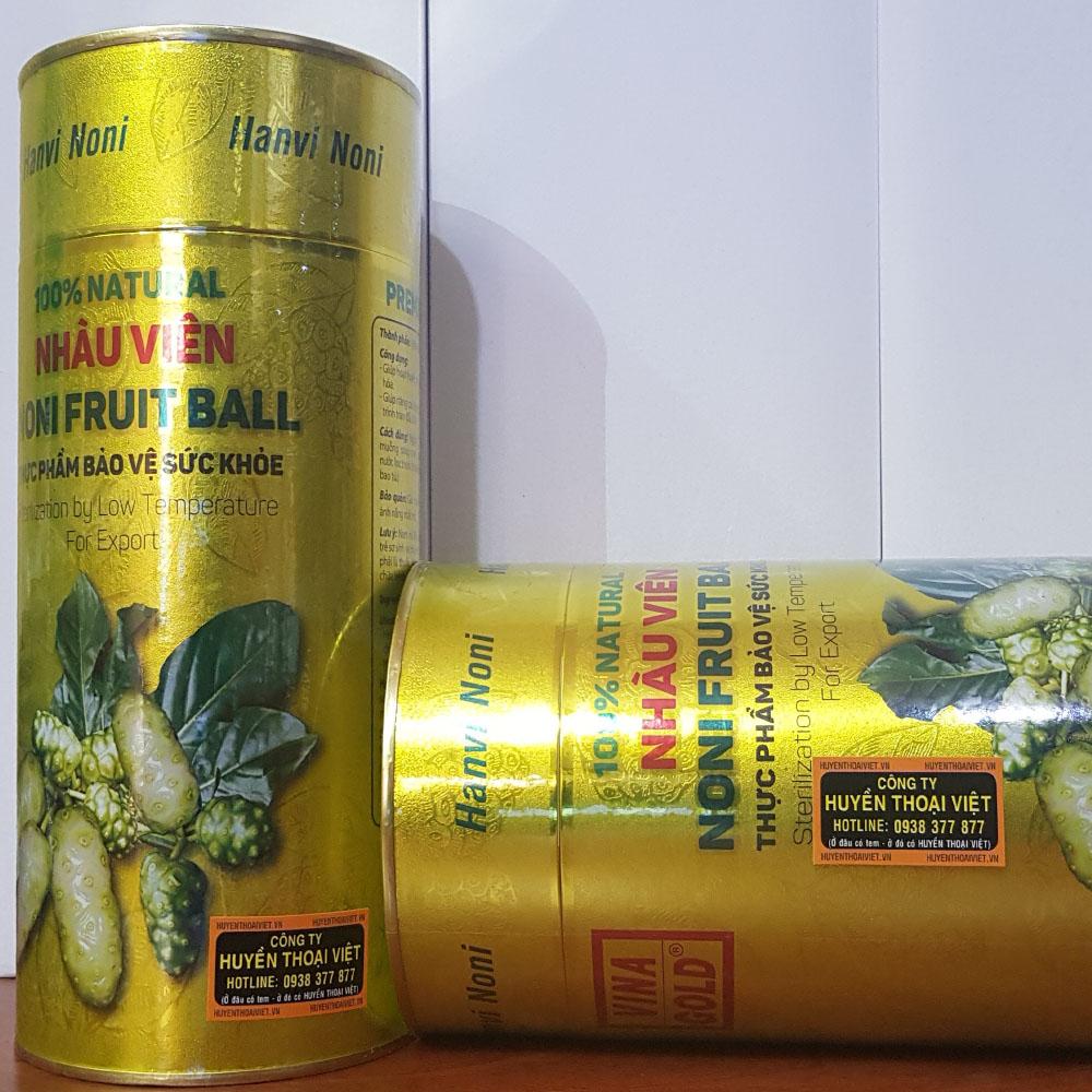 Viên Nhàu NONI 100% - Khối lượng 400Gram - Sản phẩm hiện đang Xuất Khẩu tại Hàn Quốc.